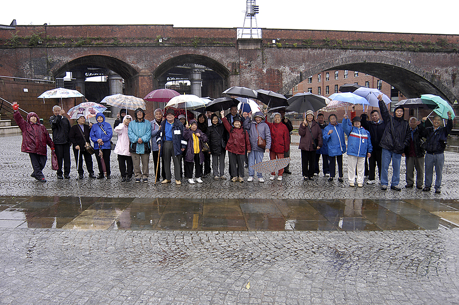 Guided canal walk for Manchester Chinese elders.